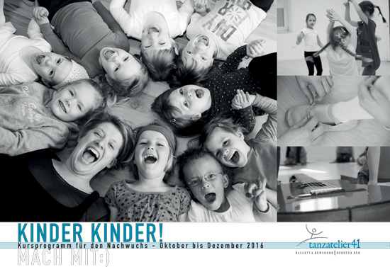 Flyer Kursprogramm Kinder
